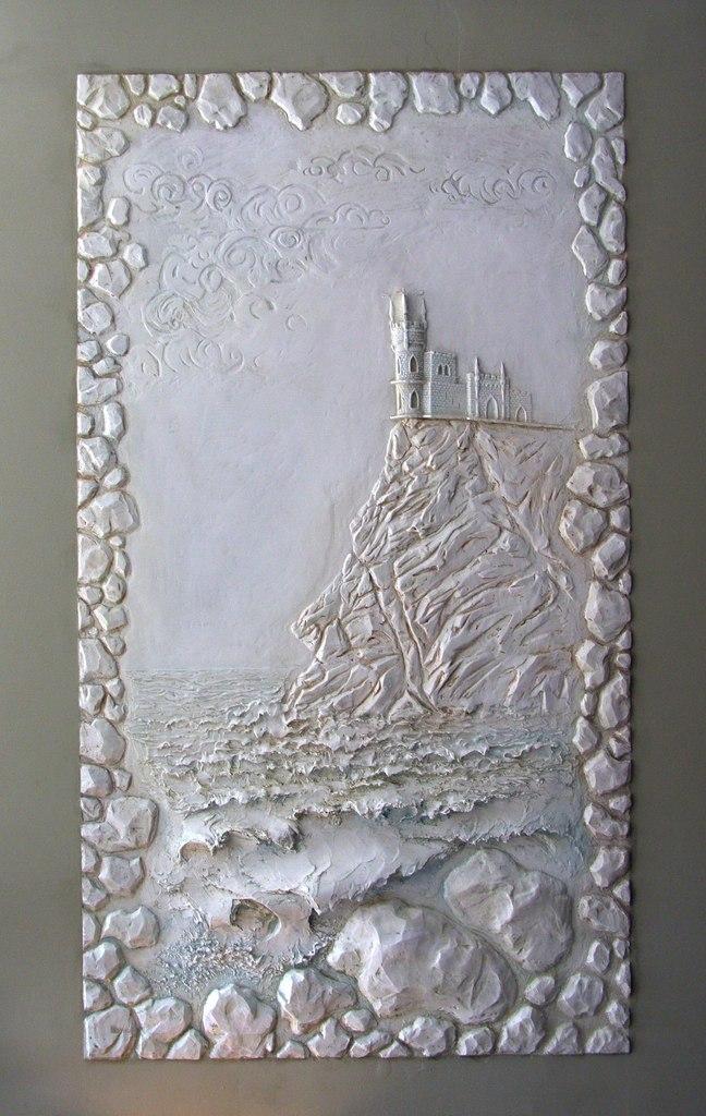 Объемный рисунок на стены в квартире - Что можно сделать из труб ПВХ от мебели до украшений